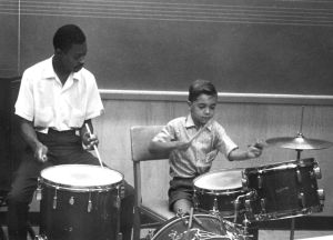 Louis Hayes and Peter Erskine